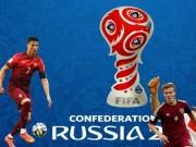 Bảng xếp hạng bóng đá - Bảng xếp hạng bóng đá Confederations Cup 2017