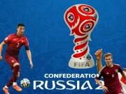 Kết quả bóng đá - Kết quả thi đấu bóng đá Confederations Cup 2017