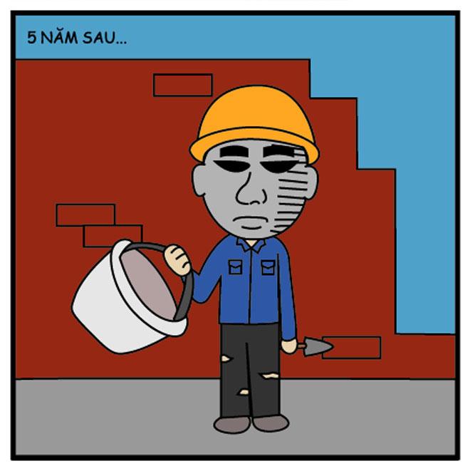Truyện tranh: Làm thợ hồ là số mệnh rồi! - 3