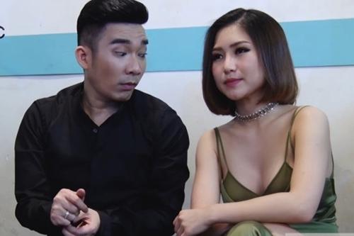 Chết cười biểu cảm của Quang Hà, Trường Giang khi kề cận mỹ nữ trễ nải - 1
