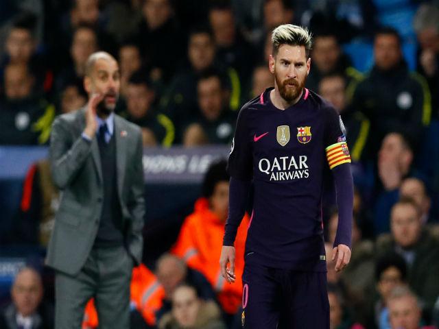 Khó tin: Messi bỏ Barca, đấu Ronaldo ở derby Manchester