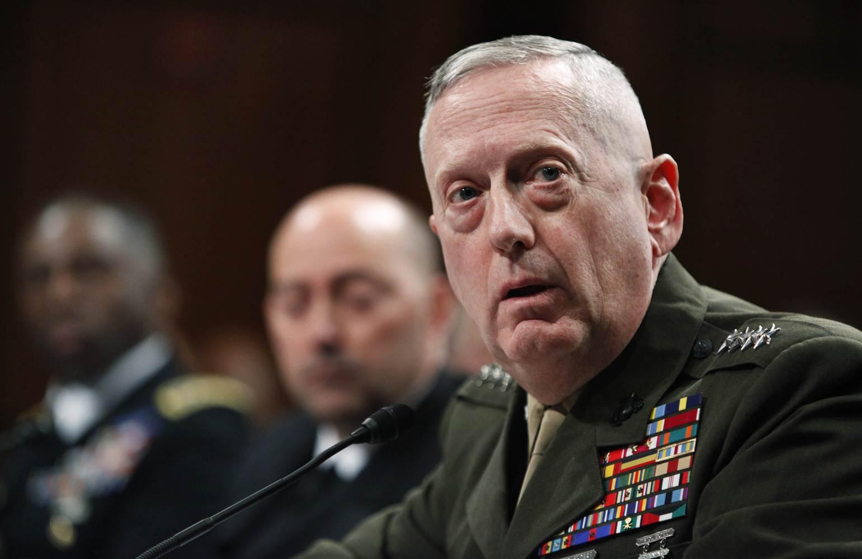 Bộ trưởng QP Mỹ nói về khả năng chiến tranh với Triều Tiên - 1