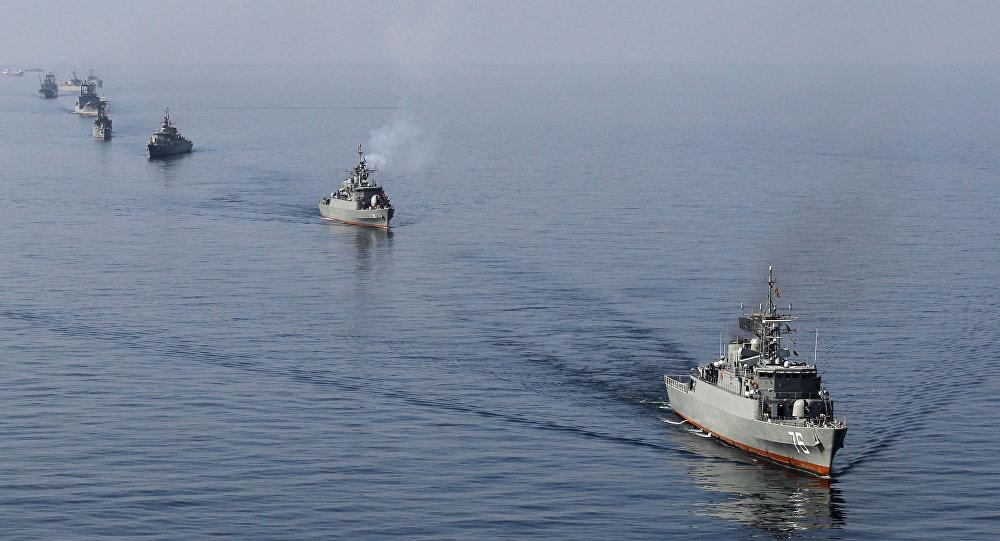 TQ và Iran tập trận chung giữa căng thẳng vùng Vịnh - 1