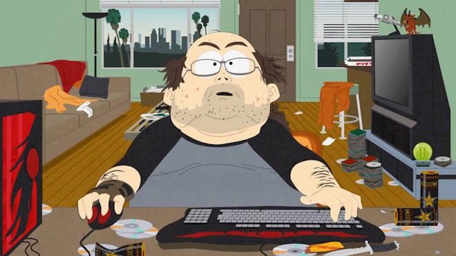 """1497781996 149778179835899 southpark gamer 796x448 Game thủ thường dai sức hơn trong các """"cuộc yêu"""""""