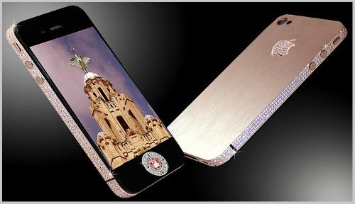 Top 10 smartphone đính kim cương, mạ vàng đắt đỏ nhất hành tinh