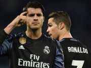 Bóng đá - Chuyển nhượng Real: Morata phải ở lại nếu Ronaldo ra đi