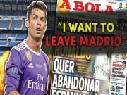 """Bóng đá - Thuyết âm mưu: Real giữ Ronaldo để... trị tội """"nổi loạn"""""""