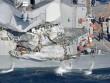 Cận cảnh chiến hạm 1,5 tỷ USD Mỹ bị tàu hàng đâm hỏng