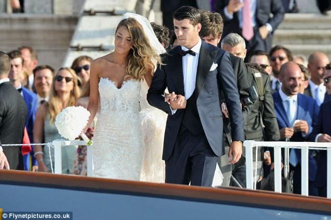 Morata cưới vợ xinh như mộng, cùng về MU xây tương lai - 5