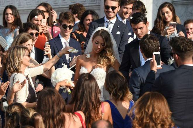 Morata cưới vợ xinh như mộng, cùng về MU xây tương lai - 3