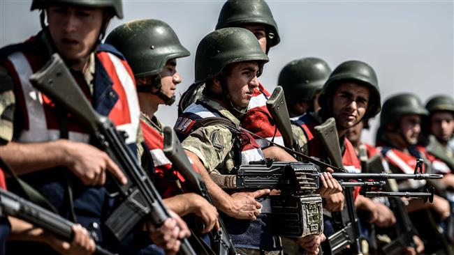 Lính Thổ Nhĩ Kỳ vừa đến đã tập trận với Qatar - 1