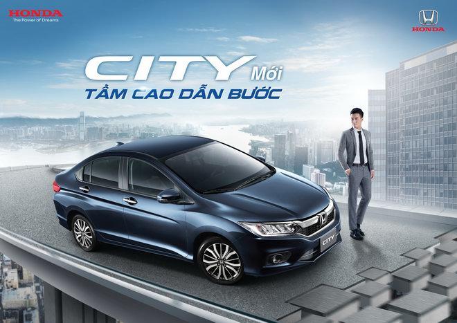 Honda City 2017 tại Việt Nam có giá từ 568 triệu đồng - 1
