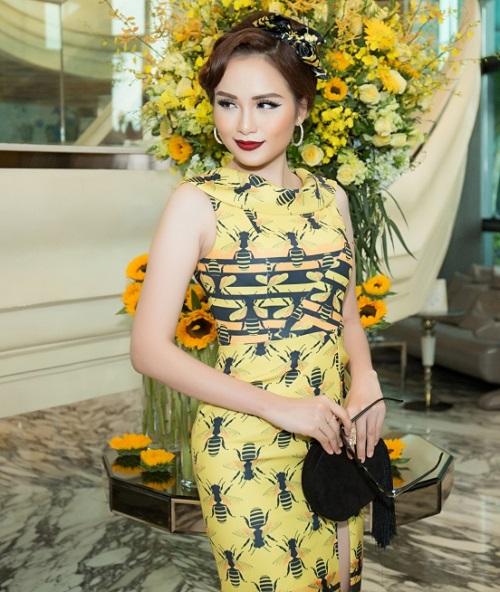 Hoa hậu Kỳ Duyên vàng chói mắt, đọ sắc Mỹ Linh, Diễm My - 9