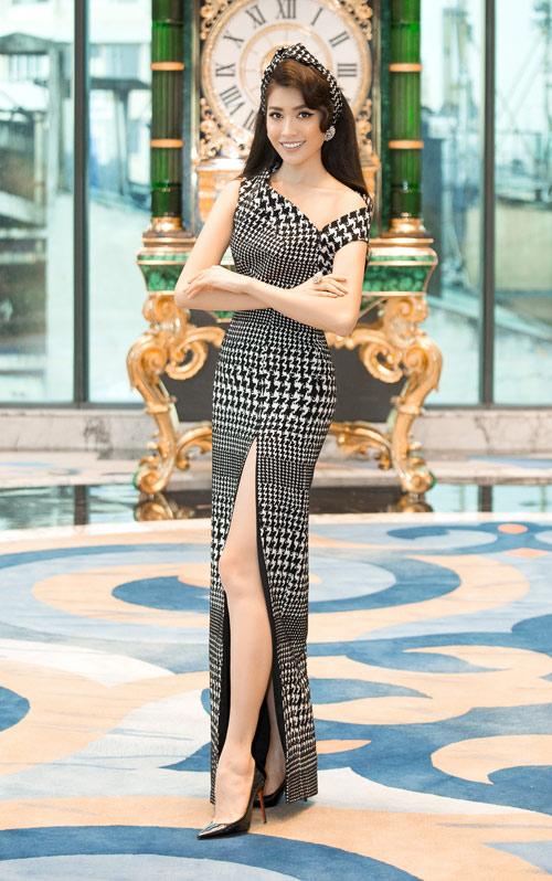 Hoa hậu Kỳ Duyên vàng chói mắt, đọ sắc Mỹ Linh, Diễm My - 12