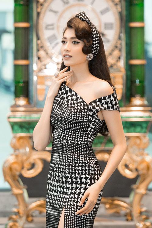 Hoa hậu Kỳ Duyên vàng chói mắt, đọ sắc Mỹ Linh, Diễm My - 13
