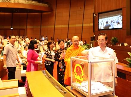 Quốc hội phê chuẩn bổ nhiệm 2 Thẩm phán TAND Tối cao - 1