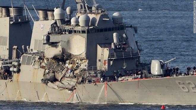 Loại tàu chiến duy nhất của Hải quân Mỹ không thể chìm - 1