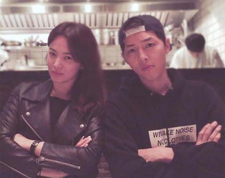 Song Hye Kyo nói về tin hẹn hò qua đêm với phi công trẻ - 2