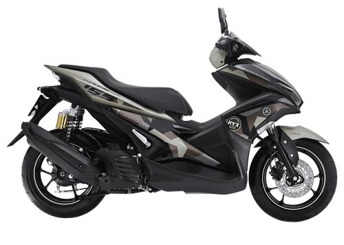 Yamaha trình làng NVX 155 Camo màu rằn ri cực độc - 2