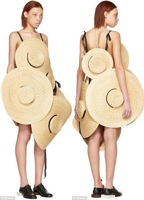Váy làm 100% từ mũ, sáng tạo hay cạn ý tưởng? - 2