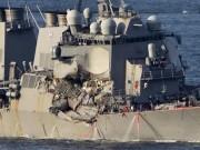 Thế giới - Tàu chiến Mỹ đâm tàu hàng: 7 thủy thủ chết vì ngạt nước