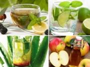 Ẩm thực - 6 loại nước detox cho mùa hè tươi mát