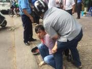 An ninh Xã hội - Cướp chạy ngược chiều bị người dân vây bắt