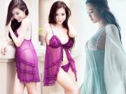 Elly Trần, Thủy Tiên hút ngàn ánh mắt với váy ngủ mong manh