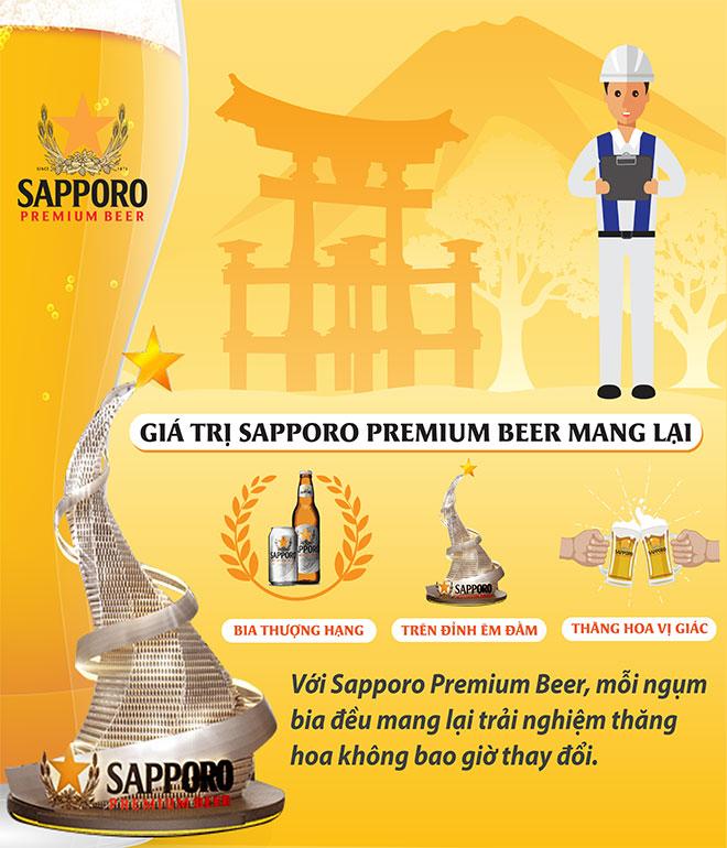 Bí mật đằng sau vị bia êm đằm của Sapporo Premium Beer - 4