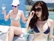 Huyền My, em gái Hà Anh mặc áo tắm mini trên du thuyền triệu USD
