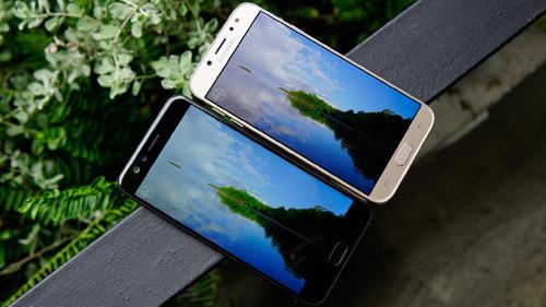"""So sánh Oppo F3 với Galaxy J7 Pro: Hàng """"ngon"""" phân khúc 7 triệu đồng - 5"""