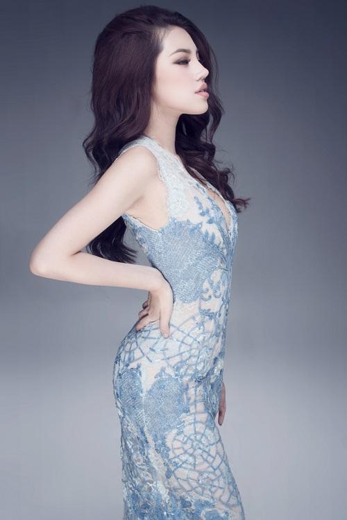"""Hoa hậu Việt sở hữu """"số đo vàng"""" mặc trong suốt đến ngỡ ngàng - 6"""