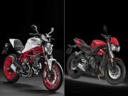 Thế giới xe - Ducati Monster 797 hay Triumph Street Triple S: Chọn xe nào?