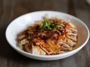 Ẩm thực - Thịt ba chỉ luộc mà chấm sốt tỏi cay đảm bảo cả nhà hít hà khen ngon