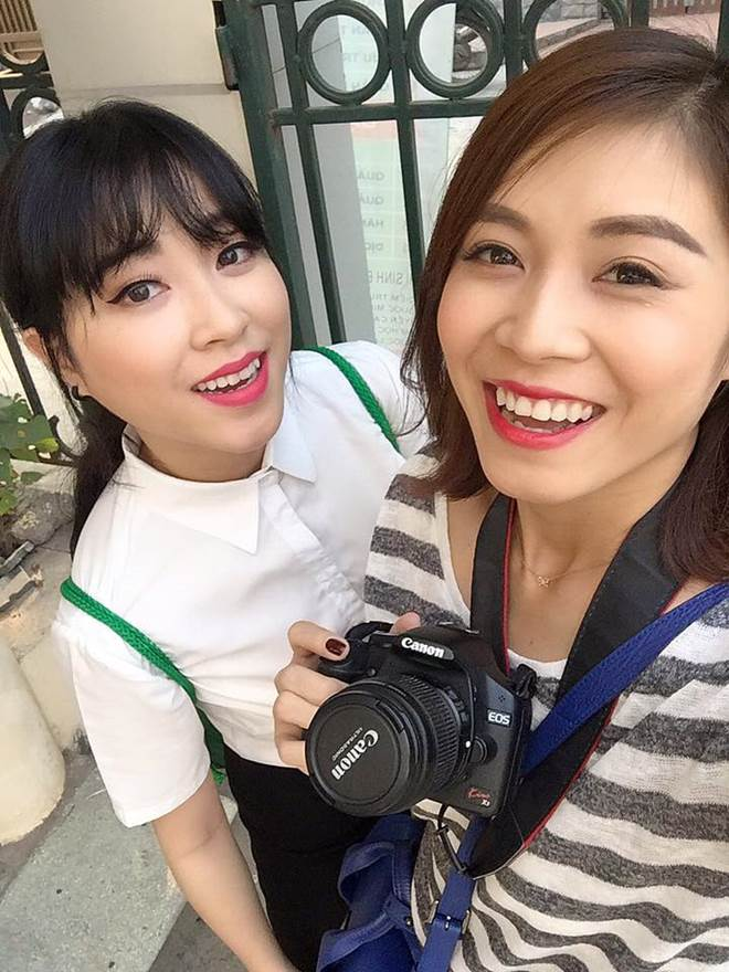 Lộ diện em gái xinh đẹp của MC Chúng tôi là chiến sĩ - 4
