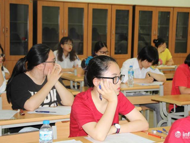 Những hình ảnh đầu tiên về kỳ thi THPT quốc gia 2017