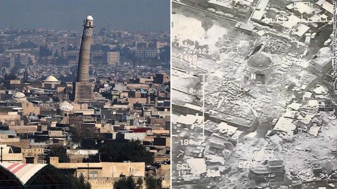 IS đánh sập thánh đường quan trọng: Chỉ dấu thua cuộc - 1