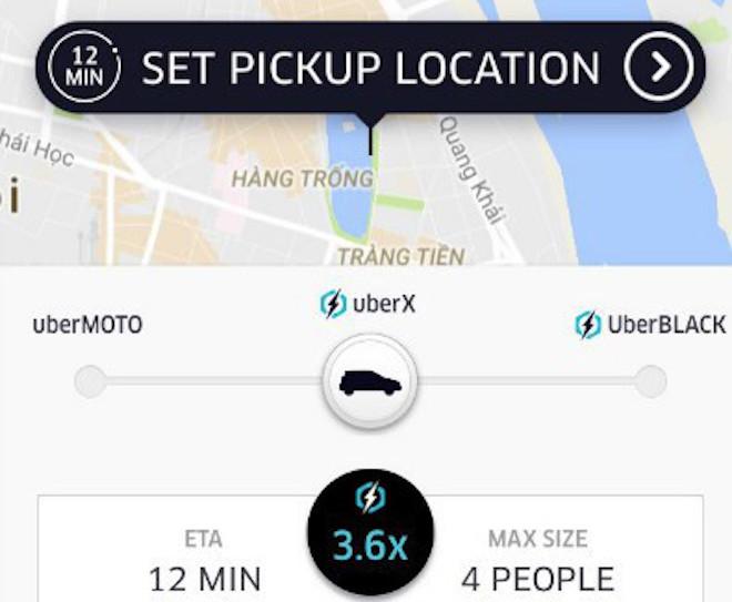 """""""Tuyệt chiêu"""" đi taxi Uber tiết kiệm khi trời mưa, đường ngập - 1"""