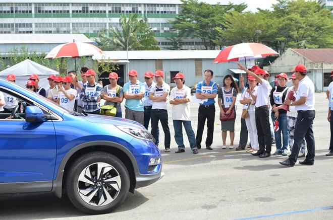 Honda tuyên dương các đại lý xuất sắc về LXAT tháng 6 - 2