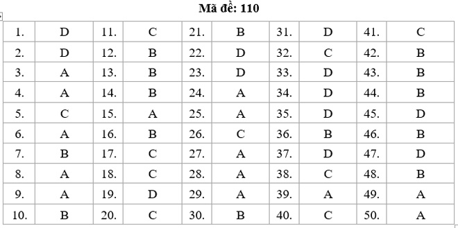 HOT: Gợi ý giải đề thi tốt nghiệp THPT Quốc Gia môn Toán - 8