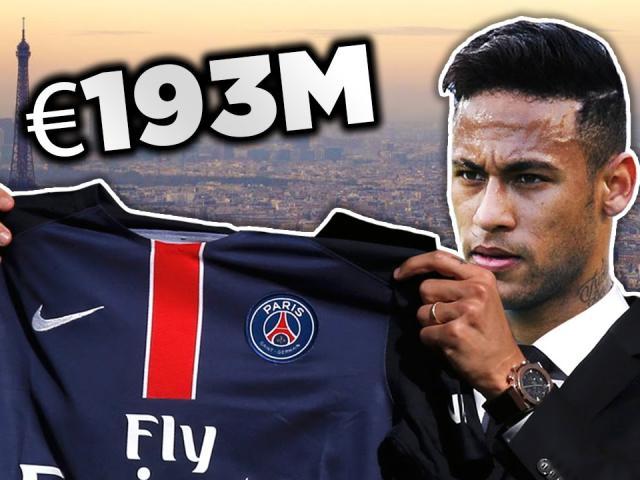 Chuyển nhượng siêu hài Rô vẩu, Neymar: Đòi máy cày đến máy bay