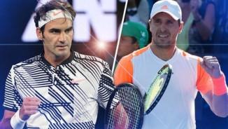 """Trực tiếp tennis Halle ngày 4: Federer cẩn thận với """"anh em siêu nhân"""""""