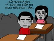 """Cười 24H - Truyện tranh: Cảm nhận về bài """"Đất Nước"""" của thí sinh"""