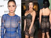 """Thời trang - Đầm """"mặc như không"""" dễ gây hiểu lầm của mỹ nữ nấm lùn"""