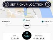 """Thủ thuật - Tiện ích - """"Tuyệt chiêu"""" đi taxi Uber tiết kiệm khi trời mưa, đường ngập"""
