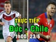 """Chi tiết Đức - Chile: """"Cỗ xe tăng"""" thủ chắc rình rập (KT)"""