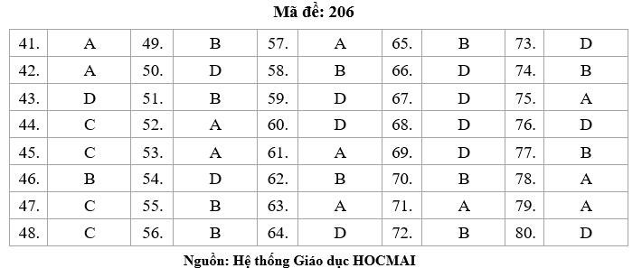 HOT: Gợi ý giải đề thi tốt nghiệp THPT Lý, Hóa, Sinh - 5
