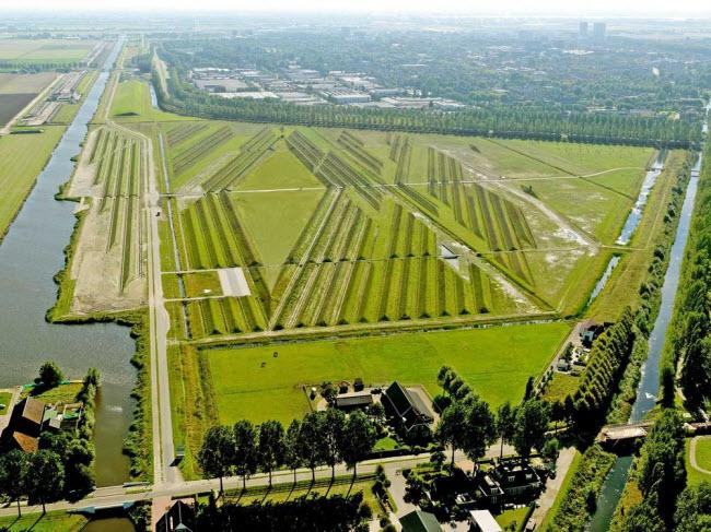 Công viên giảm tiếng ồn độc đáo ở sân bay Hà Lan - 2