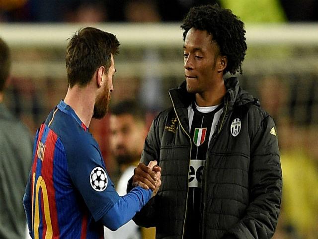 """Barca thay thiên tài Messi bằng """"công nhân"""" Cuadrado: Vết xe đổ MU"""