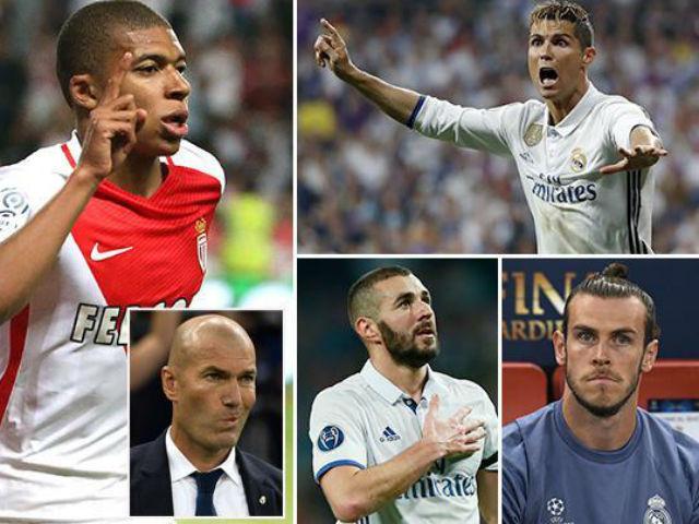 Chuyển nhượng Real: Ronaldo, Bale, Benzema lâm nguy vì